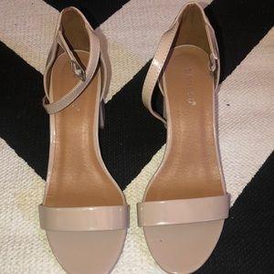 2 inch nude heels
